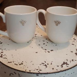Pottery Barn Bee Mug/Coffe Cups